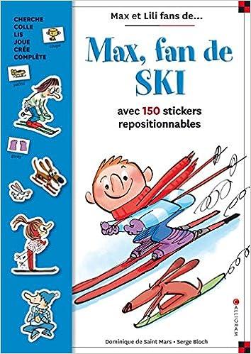 Téléchargement Max Fan de Ski - Livre Stickers pdf ebook