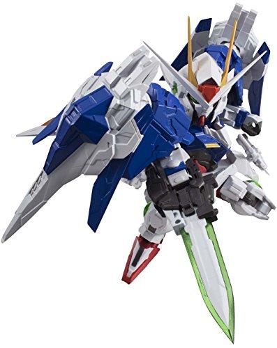 """Bandai Tamashii Nations Nxedge Style 00 Gundam and 00 Raiser """"00 Gundam"""" Action Figure"""