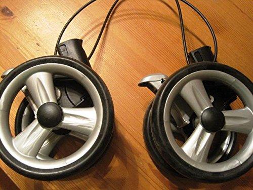 PEG PEREGO doble rueda trasera negro para pliko P3Completo A Partir de 2007–2010