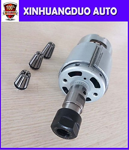 spindle 775 with ER11 Tail hole 5MM+1.5mm / 2.5mm / 3.175 mm High speed Large torque DC motor Electric tool Electric machinery 12v24v