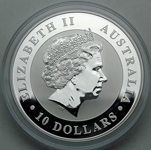 2011 AU Silver Kookaburra 10 oz $10 Uncirculated