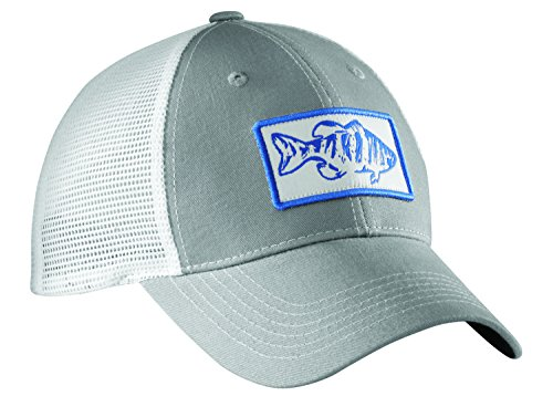 Flying Fisherman H1746 Bass Trucker Hat - Fisherman Flying Hats