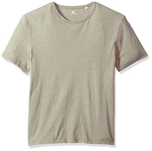 AG Adriano Goldschmied Men's Ramsey Short Sleeve Vintage Jersey Crew, Weathered Dry Cypress, M from AG Adriano Goldschmied