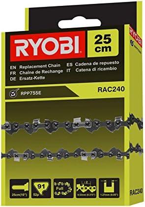 Ryobi RAC240 RAC240-Cadena para Sierras podadoras eléctricas para RPP755E