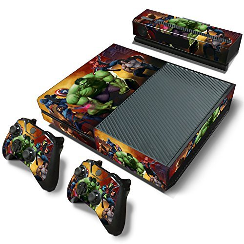 FriendlyTomato Xbox One Console and 2 Controllers Skin Set ...