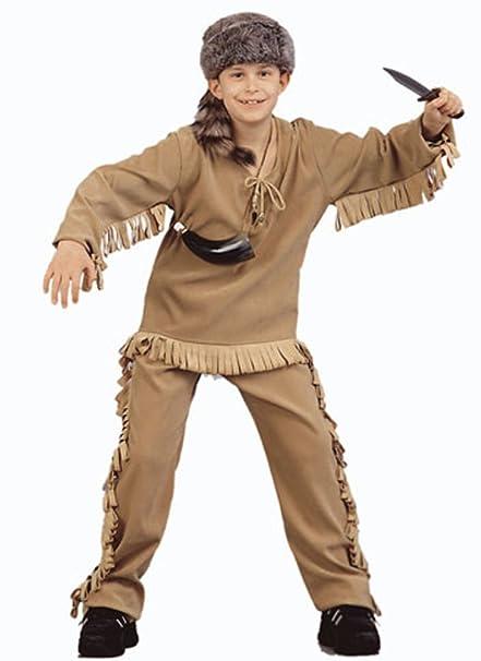 Amazon.com: Del niño Daniel Boone – Disfraz para Halloween ...
