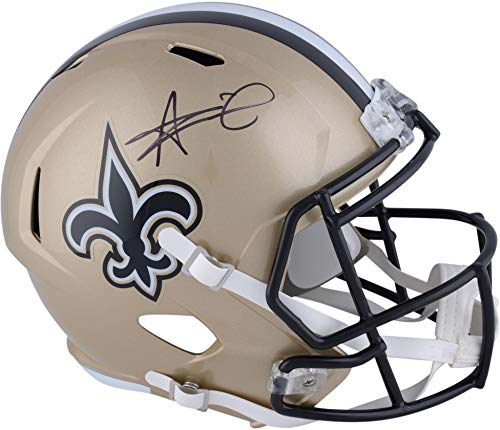 - Alvin Kamara New Orleans Saints Autographed Riddell Speed Replica Helmet - Fanatics Authentic Certified