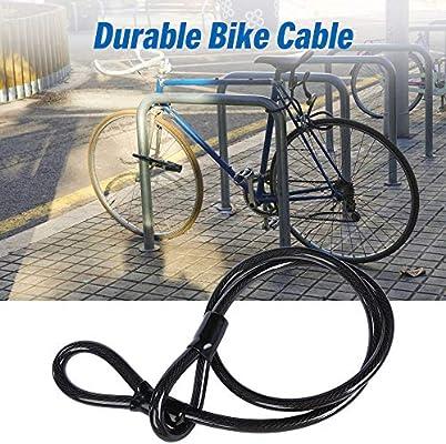 Lixada Candado de Bicicleta Servicio Pesado U Candado Bloqueo ...