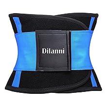 Women's Waist Trimmer Belt - Weight Loss Wrap - Stomach Fat Burner - Low Back and Lumbar Support - Best Abdominal Trainer S-XL