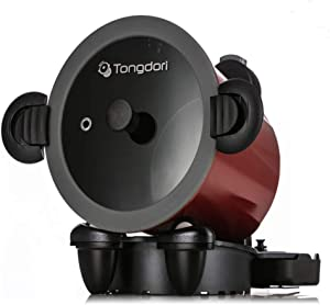 TONGDORI Oven HT-2000 Wireless Oven Gas Stove Self-Rotating Oven Camping Grill Meat Roasting Revolution of the Oven Korean BBQ Grill Baked 20 Minutes Complete
