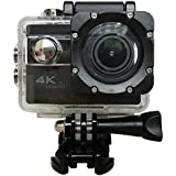 ICONNTECHS IT Ultra HD 4K Sport Action Camera WIFI 1080P 60fps HDMI 20MP+ 170 Degree Wide Viewing Angle Waterproof DV Camcorder for Extreme Outdoor Sports(Black)