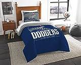 Dodgers OFFICIAL Major League Baseball, Bedding, Printed Twin Comforter (64x 86) & 1 Sham (24x 30) Set