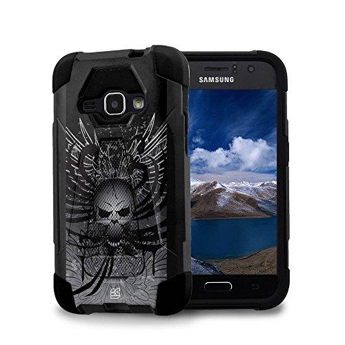 Samsung Galaxy Luna - [Skull Wings] Premium Dual Layer Sl...