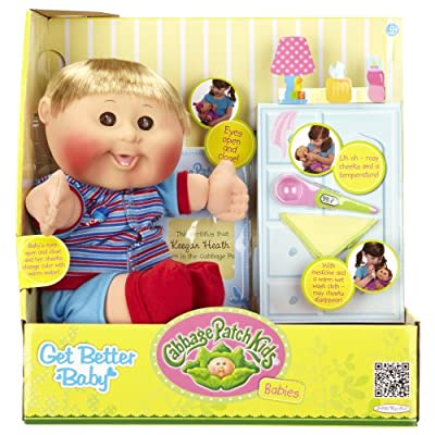 Cabbage Patch Kids Get Better Baby Caucasian Blond Boy 125 from Cabbage Patch Kids