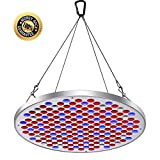 LED Grow Light, Grow Lights for Indoor Plants, Upgraded 177Pcs Big Chip LEDs, Switch Control Power, Red Blue Spectrum Hydroponics Plant Hanging Kit for Germination,Vegetative &Flowering