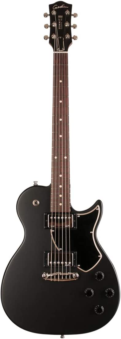 Godin Summit Classic SG - Guitarra eléctrica, color negro mate