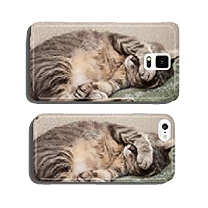 sleeping cat cell phone cover case Samsung S6