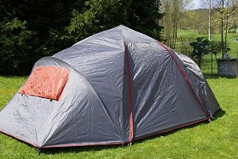 Nexos Automatik Zelt für 6 Personen Familienzelt 1500mm WS Campingzelt