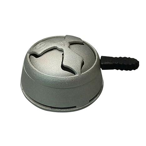 Providethebest Aleación de Aluminio Kaloud carbón de leña del Quemador de la Estufa por Holder Shisha cachimba cachimba Tazón Cabeza Guardián de ...