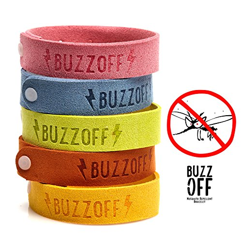 BuzzOff Mosquito Repellent Bracelet Everytime