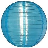 Asian Import Store Quasimoon 14'' Sky Blue Nylon Lantern by PaperLanternStore, Inc.