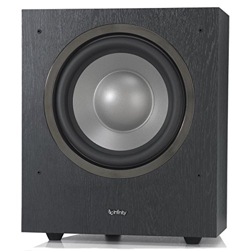 "Infinity SUB R10 Reference Series 10"" 200w Powered Subwoofer - Each (Black)"
