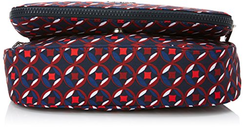 Kipling Earthbeat S, Borse a tracolla Donna Multicolore (Red Tile Print)