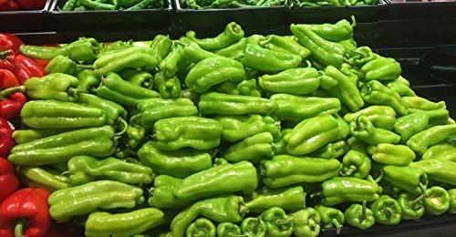 Cubanelle Pepper - Organic Cubanelle Sweet Pepper Seeds- 40+