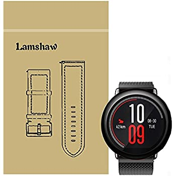 Amazon.com: for Amazfit Pace Band, Lamshaw Milanese Magnetic ...