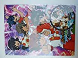Theatrical Edition Inazuma Eleven GO GO vs Little Battlers underlay with stickers