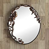 SPI Home Octopus Oval Wall Mirror