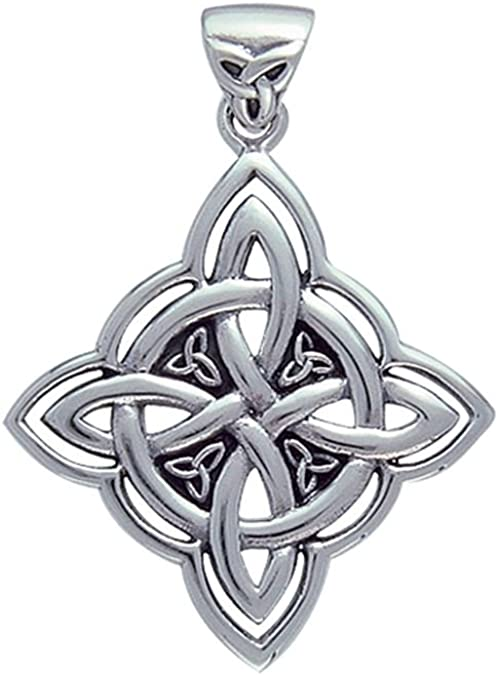 Lot of 3 Vintage Silver Metal Celtic Knot Look Pearl Cage Locket Pendants Charms