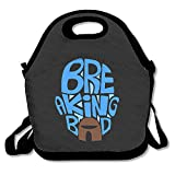 Breaking Bad Season 5 Lunch Bag Lunch Boxes, Waterproof Outdoor Travel Picnic Lunch Box Bag Tote With Zipper And Adjustable Crossbody Strap