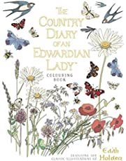The Country Diary of an Edwardian Lady Colouring Book [Idioma Inglés]