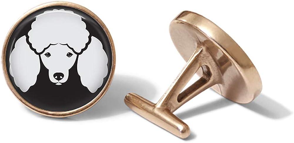 Oakmont Cufflinks Poodle Cufflinks Poodles Cuff Links Solid Bronze