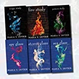 Maria V. Snyder The Chronicle of Ixia Collection 6 Books Bundle (Fire Study, Poison Study, Magic Study, Spy Glass, Storm Glass, Sea Glass)