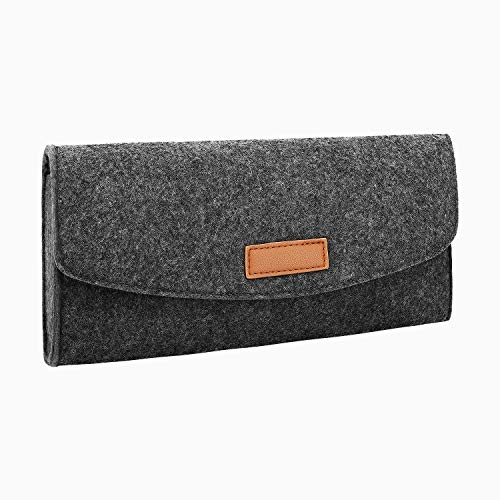 MoKo Storage Bag for Nintendo Switch, Carrying Portable Felt