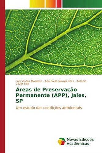 Áreas de Preservação Permanente (APP), Jales, SP