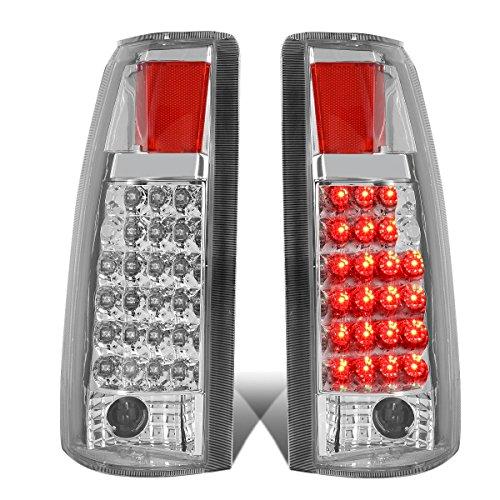 For Chevy GMC C/K Series LED Tail Brake Reverse Light Kit (Chrome Clear)