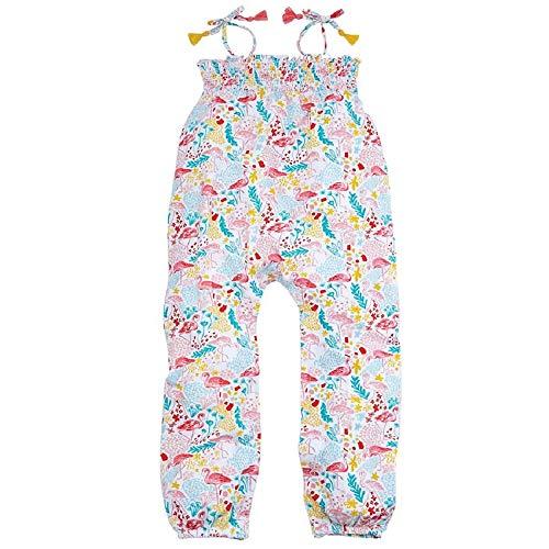 Mud Pie Baby Girl's Flamingo Romper (Infant/Toddler) Multi 3T