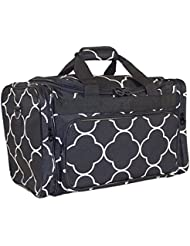 Ever Moda Moroccan Tile Large Duffle Bag