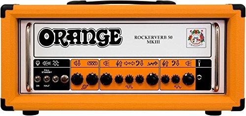 2 Channel Tube - Orange Rockerverb 50 MKIII - 50W 2-Channel Tube Head - Orange