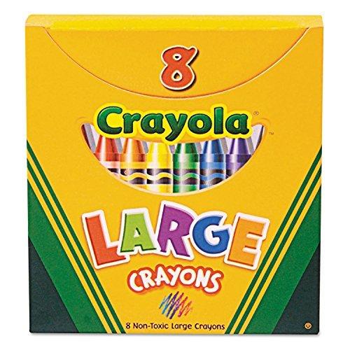 20 Pack CRAYOLA LLC FORMERLY BINNEY & SMITH CRAYOLA LARGE SI