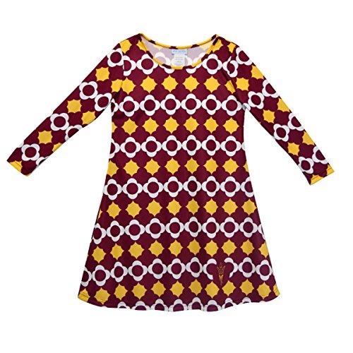 sity Long Sleeve Vivi Dress (Arizona Embroidered Long Sleeve)