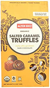 Alter Eco Salted Caramel Truffle, Pack Of 10