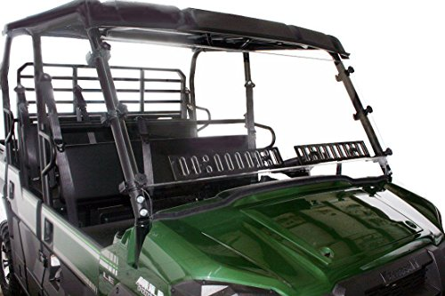 Mule Pro-FXT/FX / DX/DXT Venting Windshield with Hardcoat