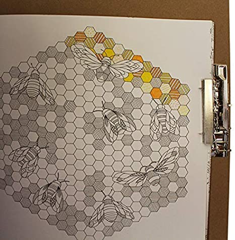 Portapapeles para Dibujo Portátil Grande de Madera - Sujetapapeles ...