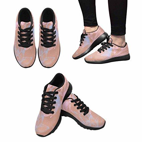 Interestprint Mujeres Jogging Running Sneaker Ligero Go Easy Walking Comfort Calzado Deportivo Multi 5