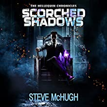 Scorched Shadows: Hellequin Chronicles, Book 7 Audiobook by Steve McHugh Narrated by Simon Mattacks