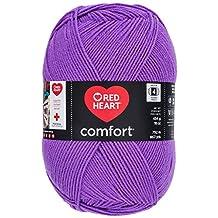 Coats: Yarn Prima Marketing Red Heart Comfort Yarn, Amethyst